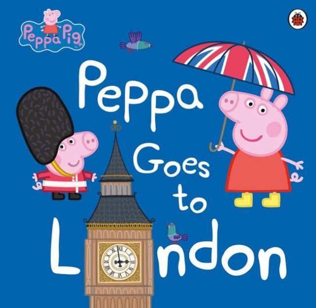 Peppa Goes To London  佩佩豬遊倫敦(外文書)