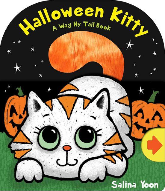Halloween Kitty  萬聖節貓咪(拉拉書)厚頁書(外文書)
