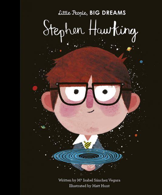 Little People Big Dream: Stephen Hawking  小人物‧大夢想:史蒂芬‧霍金(外文書)(精裝)