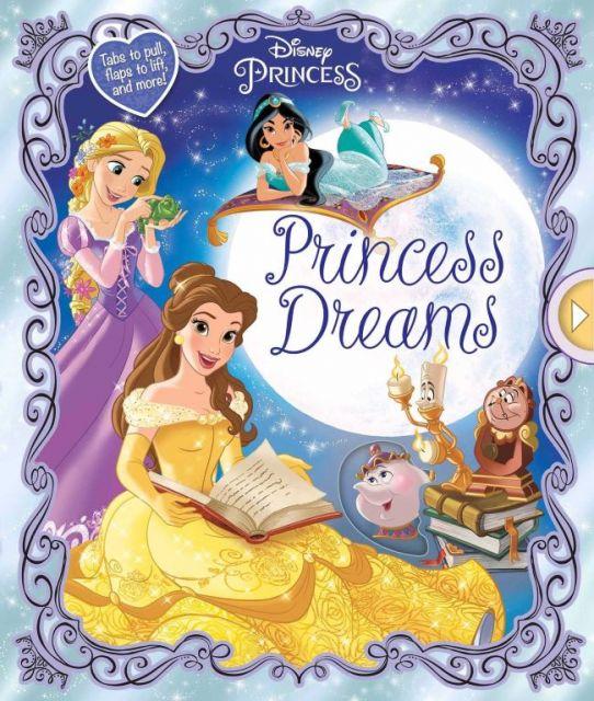 Disney Princess: Princess Dreams  迪士尼公主:公主的夢(操作書)(外文書)(精裝)