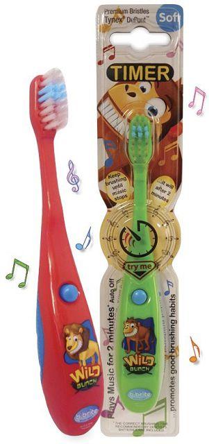 (英國B-Brite)兒童歡樂計時牙刷(音樂版)四歲以上(野生動物系列)