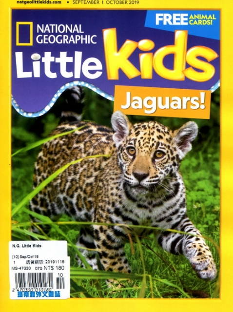 NATIONAL GEOGRAPHIC Little Kids 9-10月號_2019