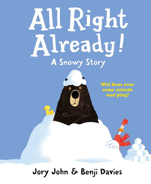 All Right Already! A Snowy Story  好吧!已經下雪了(外文書)(精裝)