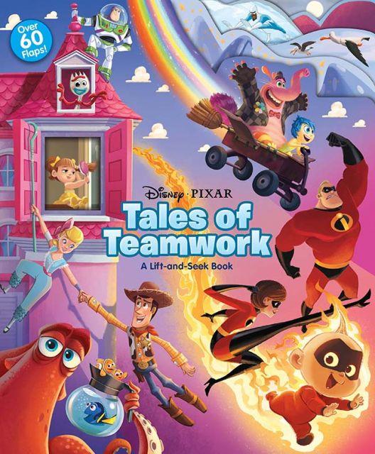 Tales of Teamwork  皮克斯動畫:團隊合作的故事(翻翻書)厚頁書(外文書)