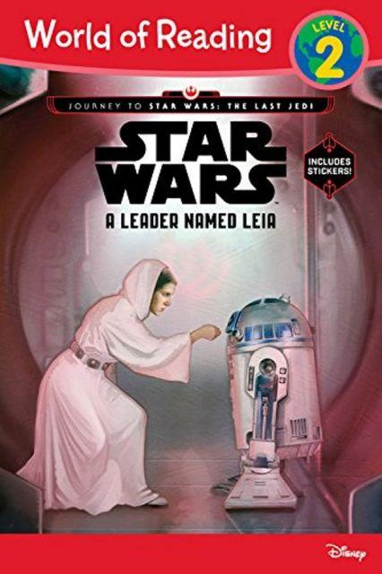 A Leader Named Leia  銀河系領袖:莉亞公主(讀本附貼紙)(外文書)