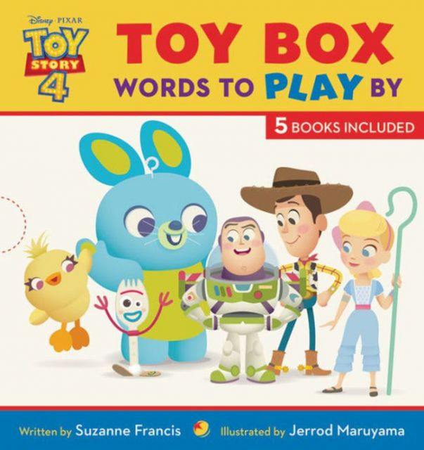 Toy Box: Words to Play By  玩具總動員經典語錄套書(外文書)(精裝)