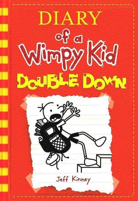 DIARY OF A WIMPY KID #11 DOUBLE DOWN 遜咖日記11:我有一個導演夢!(外文書)
