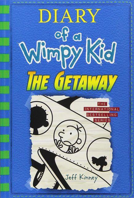 DIARY OF A WIMPY KID #12:Getaway 遜咖日記 12:度假歷險記(外文書)