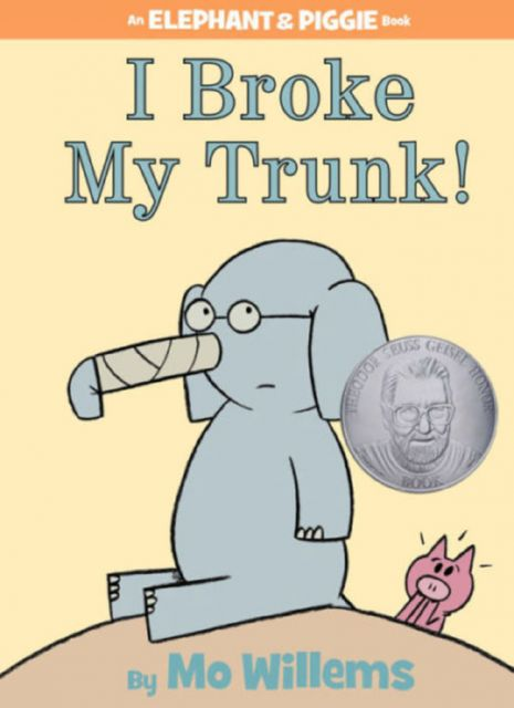 I Broke My Trunk! (An Elephant and Piggie Book) 我把鼻子弄斷了(外文書)(精裝)