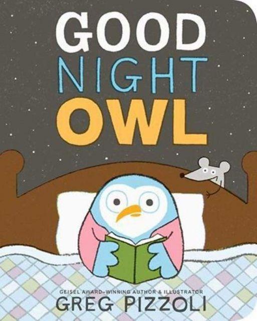 Goodnight Owl  晚安貓頭鷹(厚頁書)(外文書)