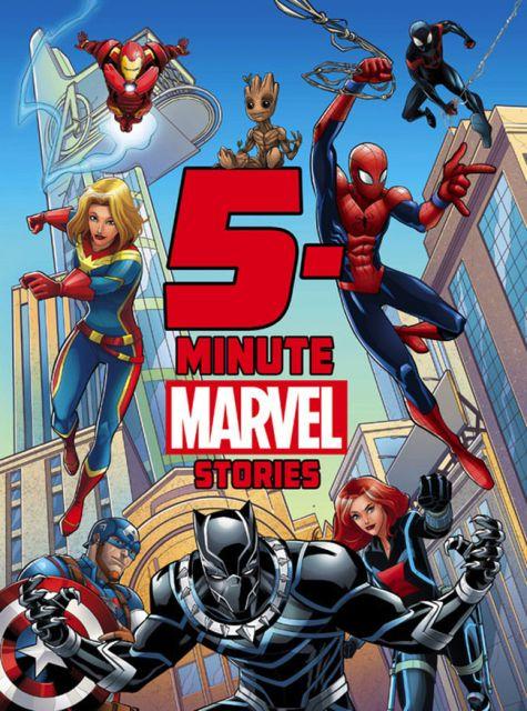 5-Minute Marvel Stories  5分鐘床邊故事:漫威英雄故事(外文書)(精裝)