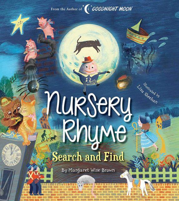Nursery Rhyme Search and Find  英文兒歌大全(瑪格莉特‧懷絲‧布朗經典)(外文書)(精裝)