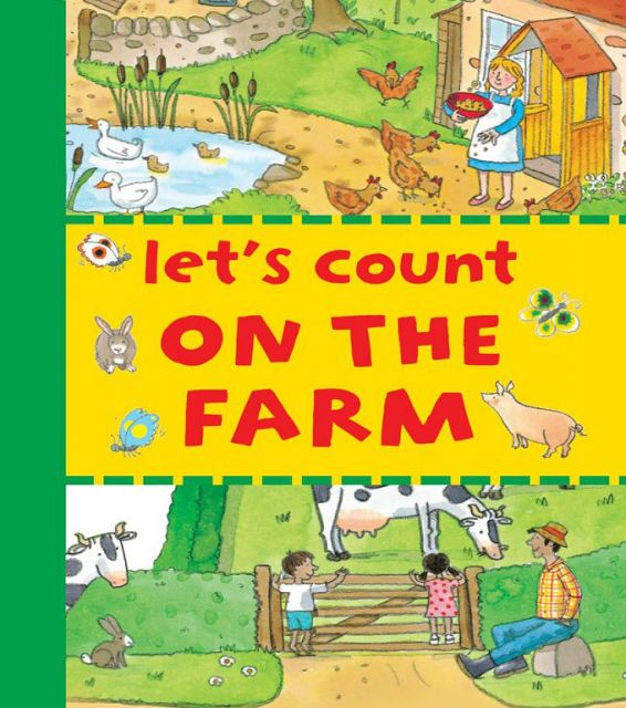LETS COUNT ON THE FARM(外文書)
