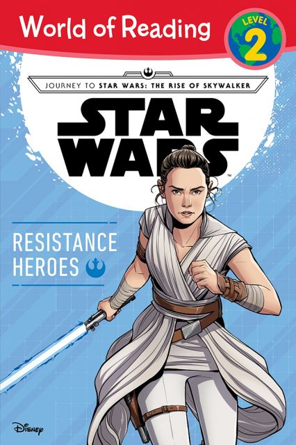 Journey to Star Wars: The Rise of Skywalker Resistance Heroes  天行者的崛起:反抗軍英雄(外文書)