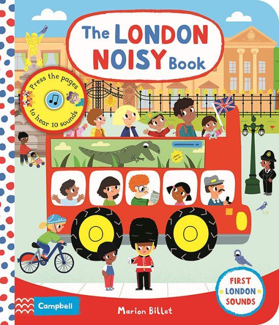 The London Noisy Book  熱鬧的倫敦大街(壓壓有聲書)厚頁書(外文書)