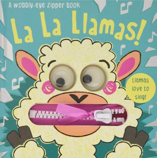La La Llamas!  草泥馬愛唱歌!(厚頁書)(外文書)