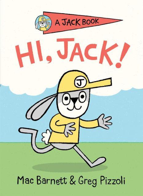 Hi, Jack!  嗨!調皮傑克兔(外文書)(精裝)
