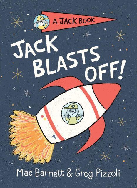 Jack Blasts Off  傑克兔上月球(外文書)(精裝)
