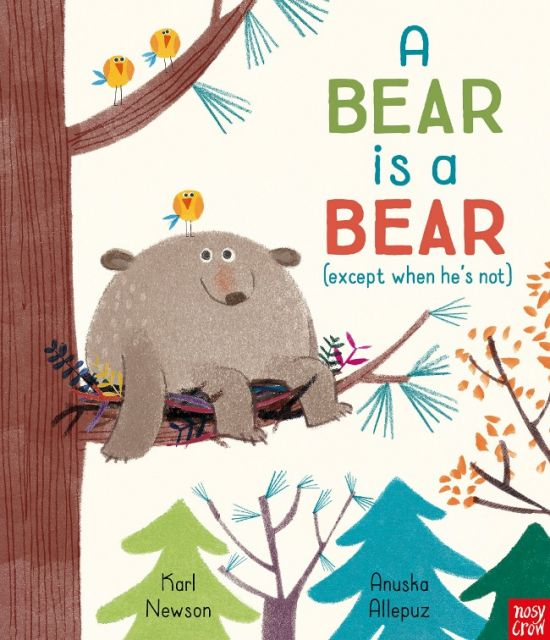A Bear is a Bear  熊熊不是熊(附QRcode音檔)(外文書)