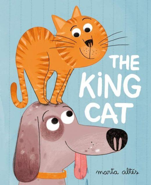 The King Cat  貓狗大戰(外文書)
