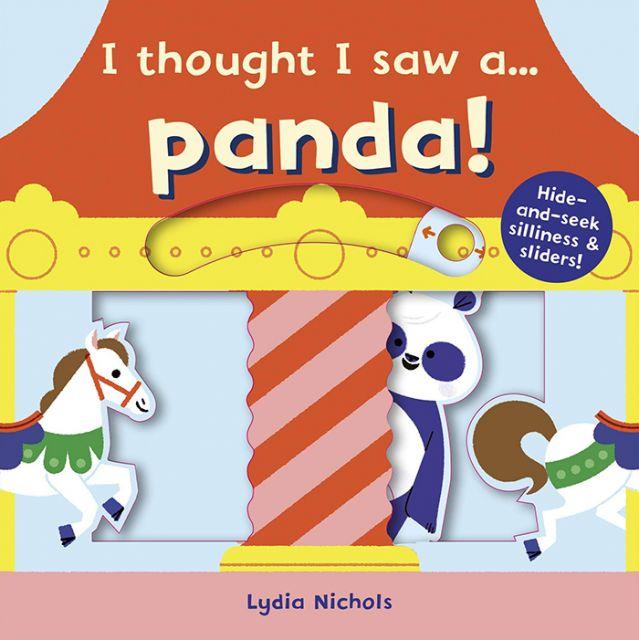 I thought i saw a... Panda!  我覺得…我看到一隻熊貓(推推書)厚頁書(外文書)