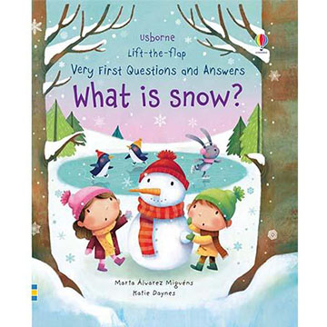 Lift-The-Flap Very First Questions & Answers What Is Snow? 翻翻學習書 精裝本(外文書)