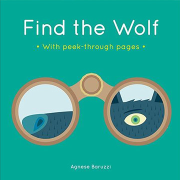 Find The Wolf With Peek-Through Pages 尋找大野狼 趣味硬頁書(外文書)