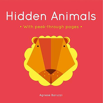 Hidden Animals With Peek-Through Pages 尋找動物 趣味硬頁書(外文書)
