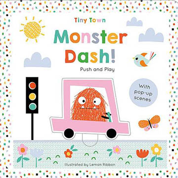 Tiny Town Push And Play:Monster Dash! 趣味學習書(外文書)
