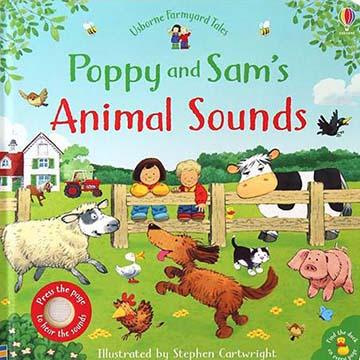 Poppy And Sam's Animal Sounds 帕皮和山姆的動物音效書(外文書)