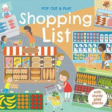 Pop Out&Play:Shopping List 購物遊戲拼圖書(外文書)
