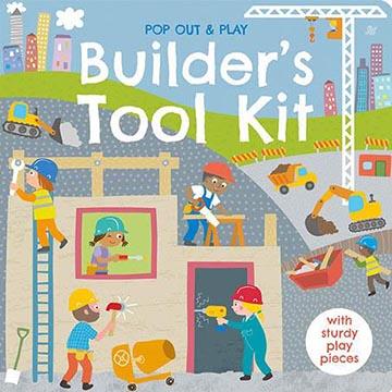 Pop Out&Play:Builder's Tool Kit 建築師的工具遊戲拼圖書(外文書)