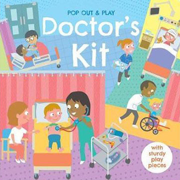 Pop Out&Play:Doctor's Kit 遊戲拼圖書(外文書)