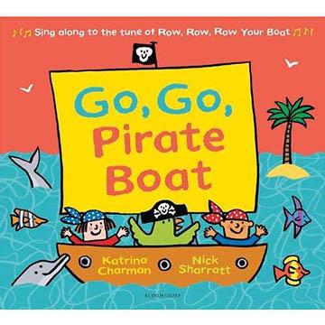 Go, Go Pirate Boat 平裝繪本(外文書)