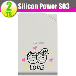 限量Silicon Power 2TB 2T【Stream S03 2TB】廣穎 USB3.1 2.5 行動外接硬碟