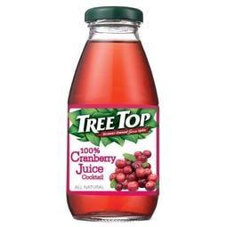 樹頂100%蔓越莓綜合果汁 300ml*24瓶*箱 (玻璃罐)【宅配免運費】