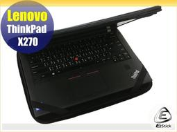 【Ezstick】Lenovo Thinkpad X270 12吋寬 NB保護專案 三合一超值防震包組