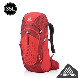 登山包首選★Gregory 35L ZULU登山背包 火紅 M/L