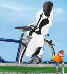 外銷版【貨架型黑色GH523】歐盟認證~GH523兒童安全座椅 後座貨架用腳踏車兒童座椅~贈尾燈