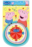 粉紅豬小妹造型認知時鐘