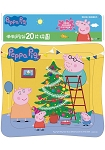 粉紅豬小妹20片拼圖:佩佩過聖誕