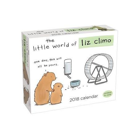 The Little World of Liz Climo 2018 Calendar