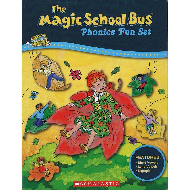 Magic School Bus Phonics Fun Set(with CD)