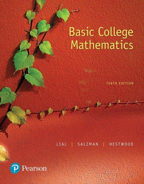 Basic College Mathematics + Mymathlab Access Card