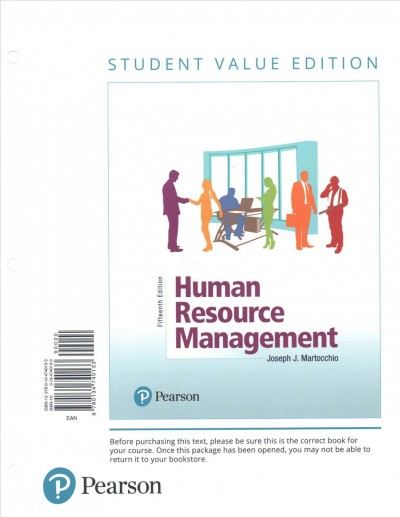 Human Resource Management + Mylab Management With Pearson Etext Access Card