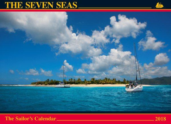 The Seven Seas 2018 Calendar