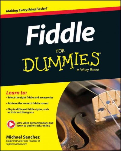 Fiddle for Dummies + Online Video and Audio Instruction