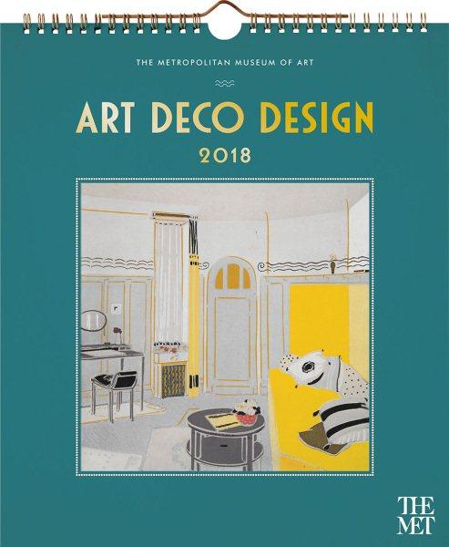 Art Deco Design 2018 Calendar(Wall)