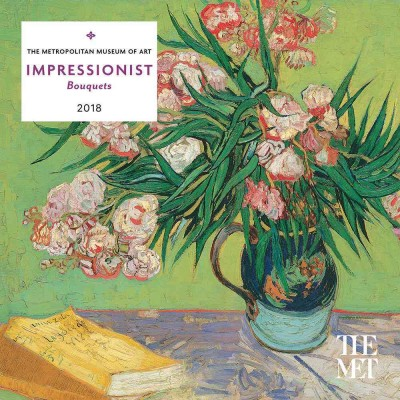 Impressionist Bouquets 2018 Calendar