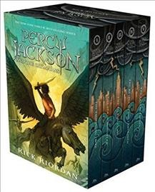 Percy Jackson and the Olympians Boxed Set (Hardcover) 波西傑克森1-5套書(精裝)